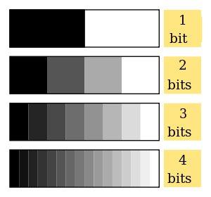 300px bits et niveaux de gris svg pearltrees - Differente teinte de gris ...