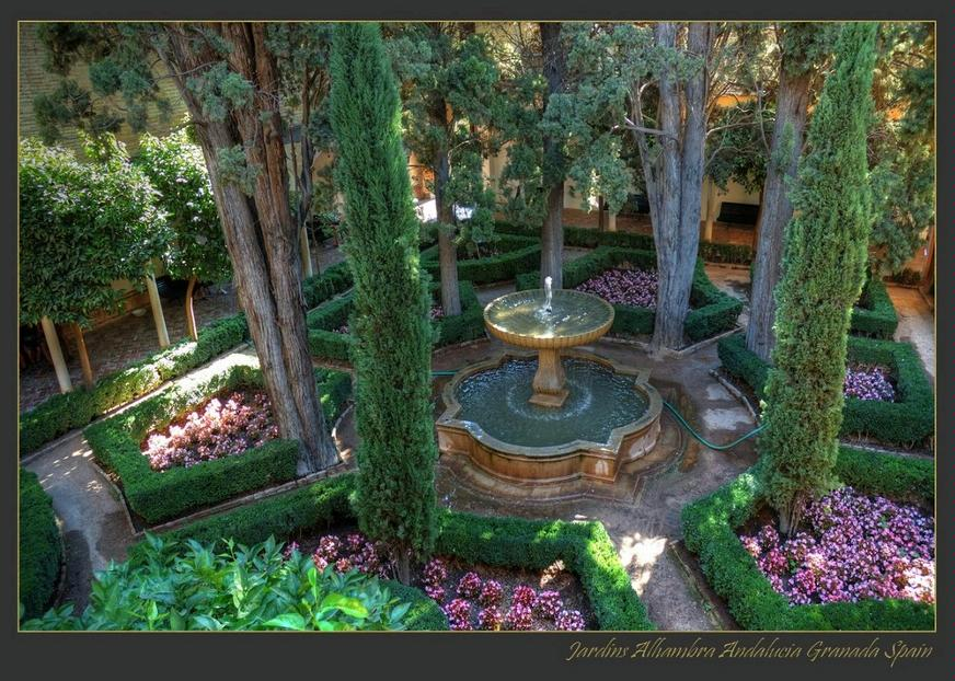 L 39 alhambra pearltrees for Dans le jardin