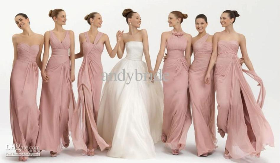Bridesmaid Dresses Same Colour Different Style Uk - Overlay ...