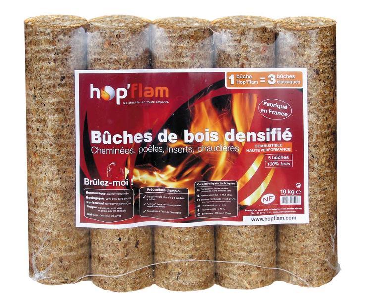 B u00fbches de bois densifié Hop'Flam Pearltrees # Buches De Bois Densifié
