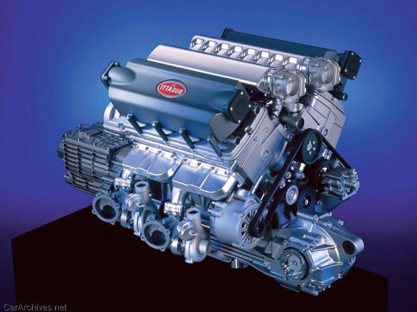 bugatti w16 engine | pearltrees