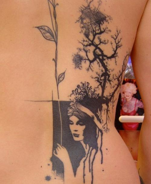 Cool-Back-Tattoos-by-Xoil-18 | Pearltrees