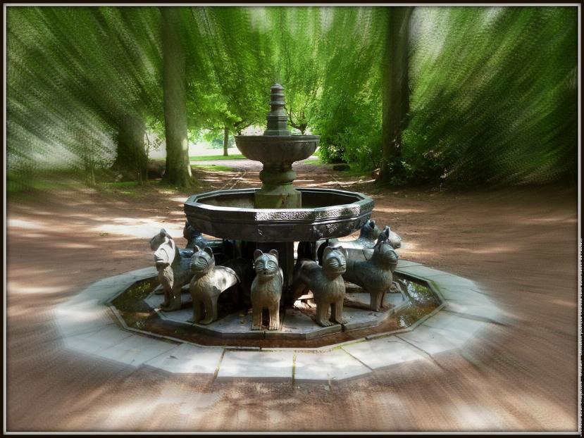 Fontaine aux lions pearltrees for La fontaine aux cuisines