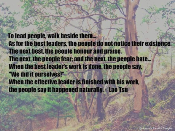 leader fear and people If you put fear first laura serway of laci's on leadership: treat people with kindness and put an effective leader treats people the way they want.