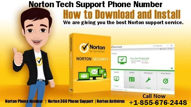 Norton Tech Support Phone Number +1-855-676-2448