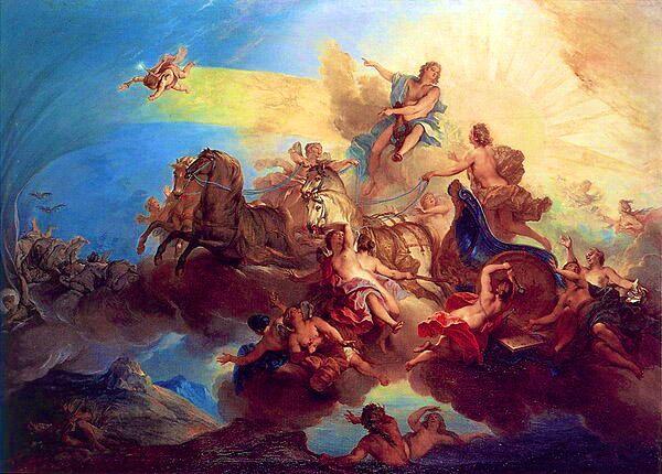 ouranos et gaia par lia974 dans mythologie grecque