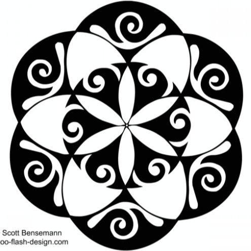 Seed Of Life Tattoo Maori Style Pearltrees