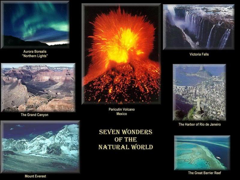 7-merveilles-du-monde-naturelles - Photo