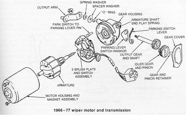wiper motor anatomy by jack94h in wiper motor