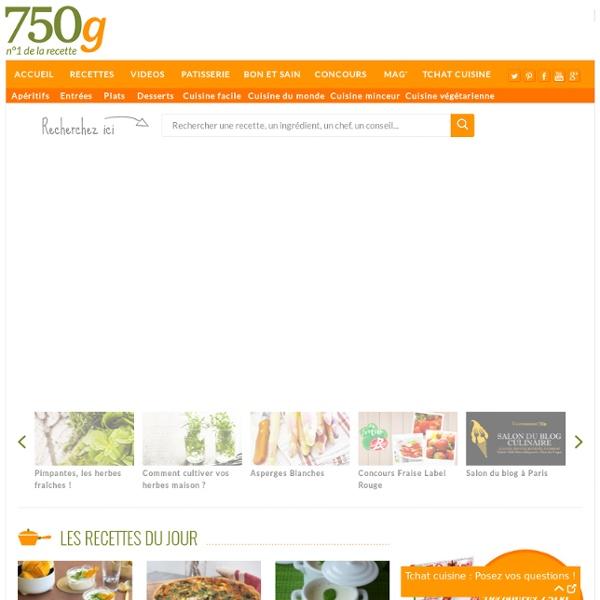 Fiche de cuisine compl te recettes de cuisine for 750grammes com fiche de cuisine