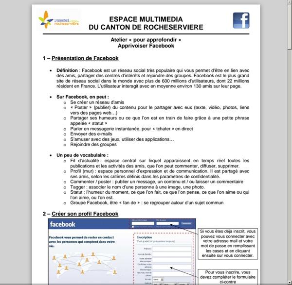 Espacemultimedia.cc-canton-rocheserviere.fr/wp-content/uploads/2012/02/05-APPRIVOISER-FACEBOOK.pdf
