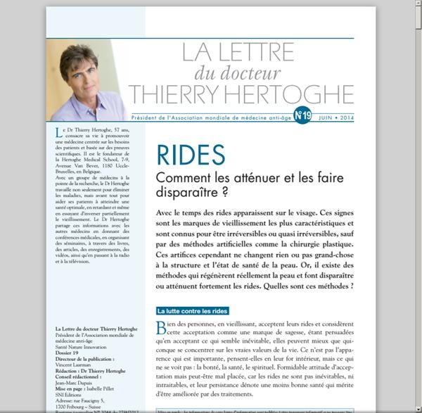 LDTH n°19 - juin 2014 - Les rides [pdf]