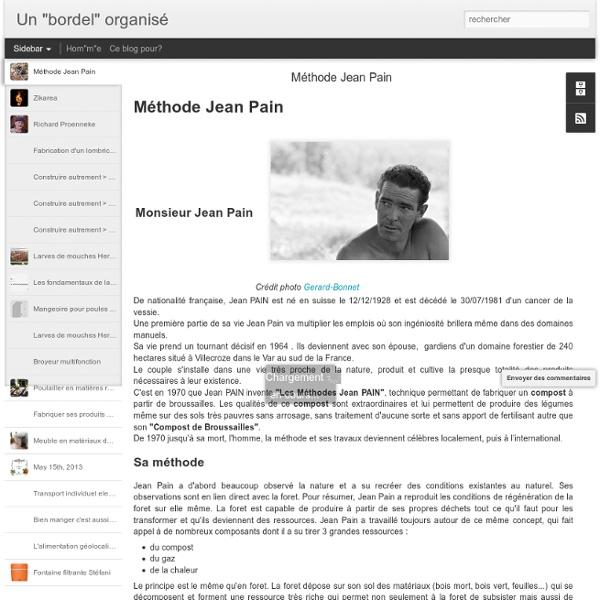 Méthode Jean Pain