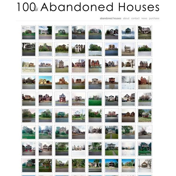 100 Abandoned Houses