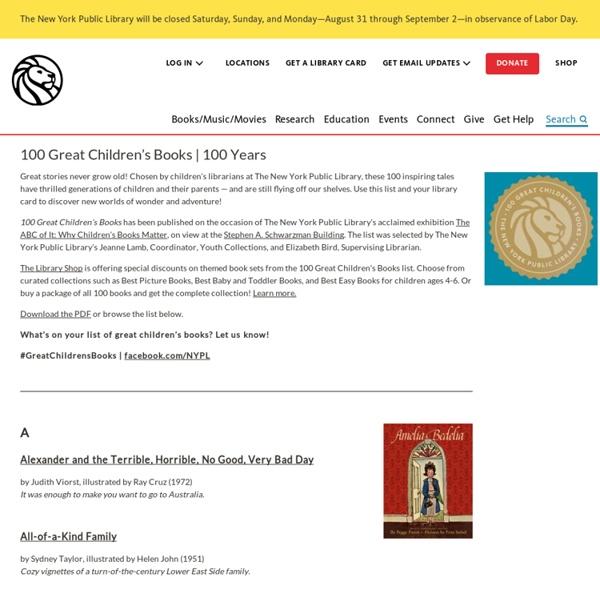100 Great Children's Books