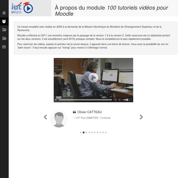 100 Tuto Iut en ligne
