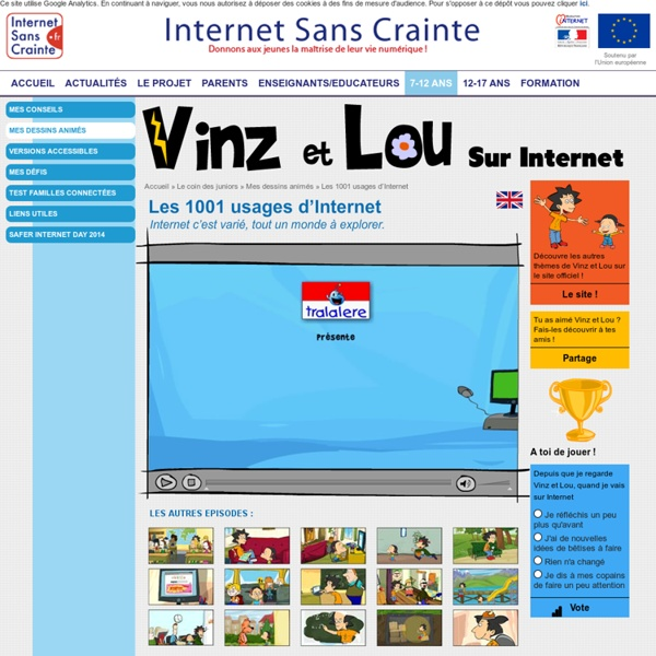 Les 1001 usages d'Internet