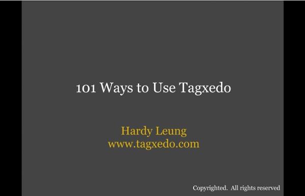 101 Ways to Use Tagxedo