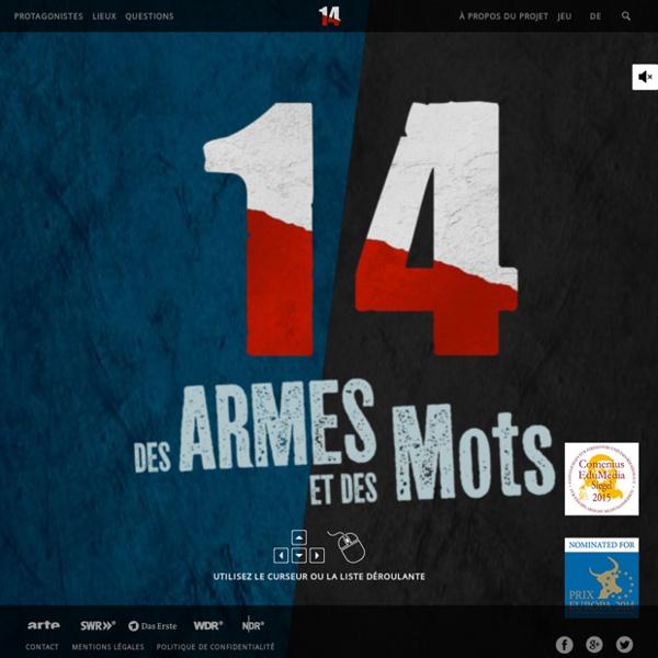 14, des armes et des mots