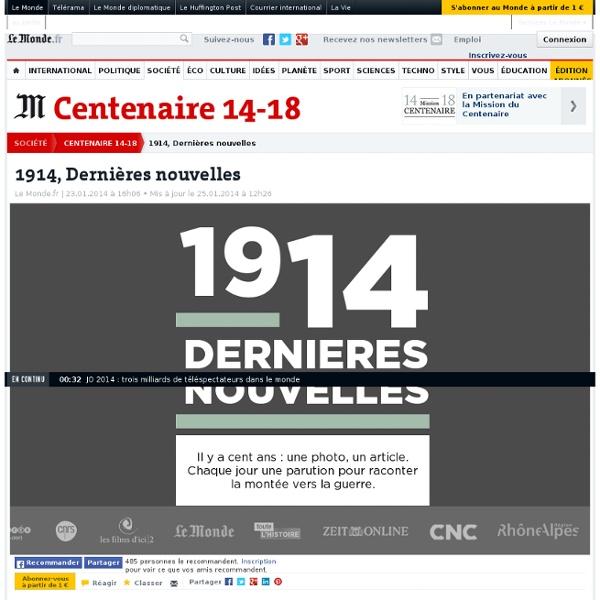 1914, Dernières nouvelles