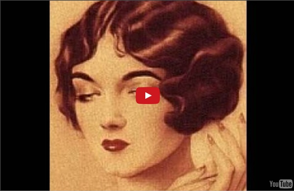 Flapper Hair Style: 1920s-1930s Hair Tutorial For LONG HAIR