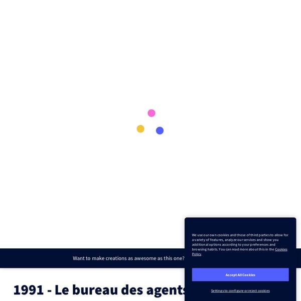 EG 1991 - Le bureau des agents secrets