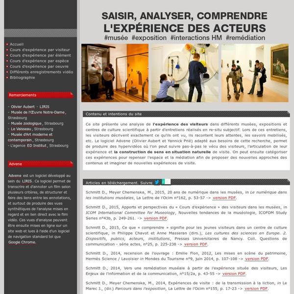 Saisir, analyser et comprendre l'expérience des visiteurs dans les musées