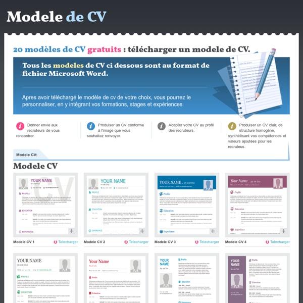 MODELE de CV