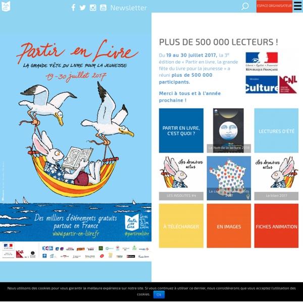 Partir en livre : La grande fête du livre pour la jeunesse – Partir en livre La grande fête du livre pour la jeunesse