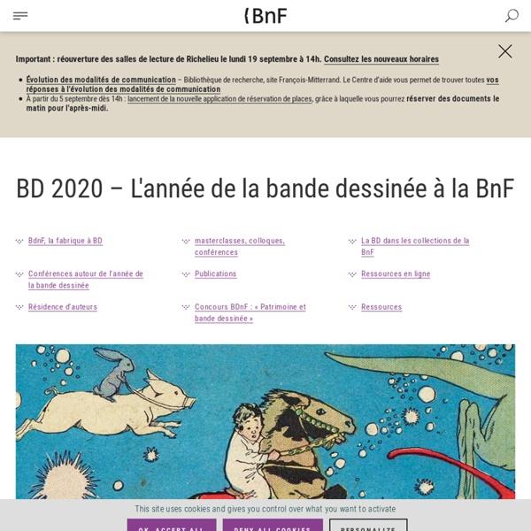 BD 2020 – L'année de la bande-dessinée à la BnF