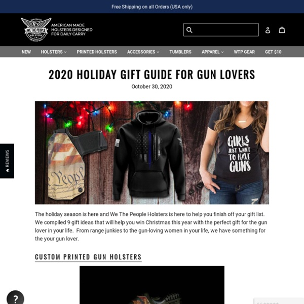 2020 Holiday Gift Guide For Gun Lovers