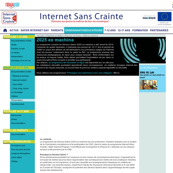 INTERNET SANS CRAINTES