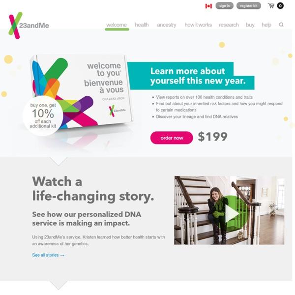 23andMe, Inc. - Home | Pearltrees