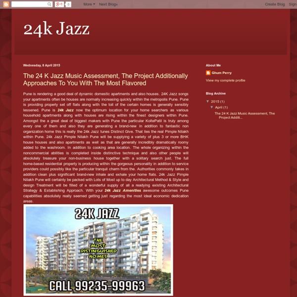 24k Jazz Floor Plans