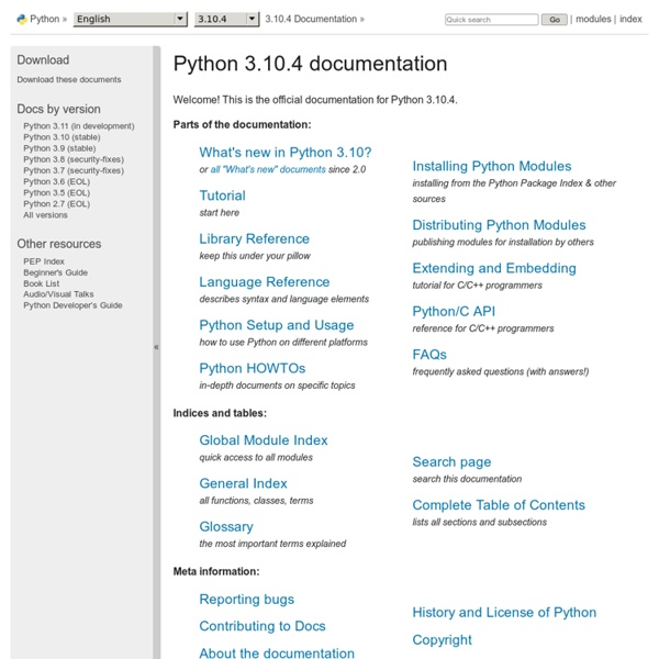3.8.3 Documentation