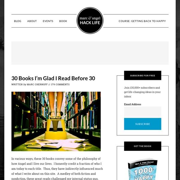30 Books I'm Glad I Read Before 30
