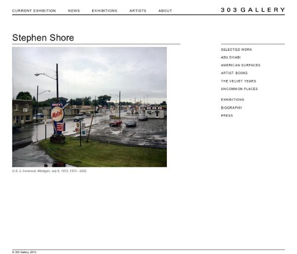 Stephen Shore