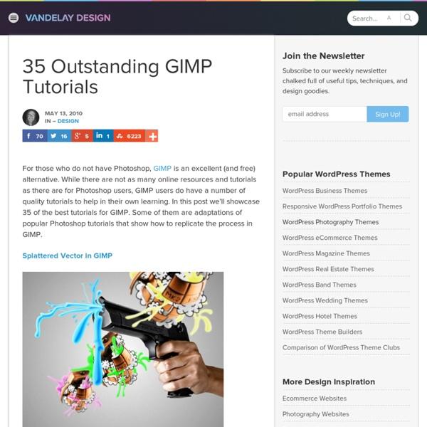 35 Outstanding GIMP Tutorials