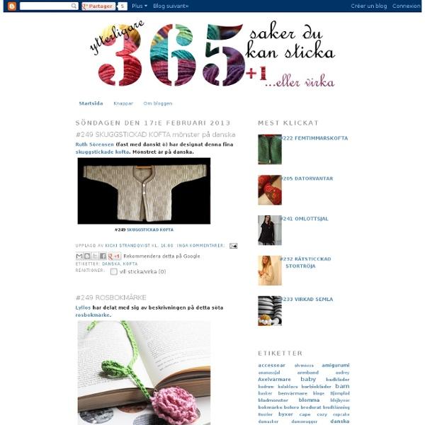 365 saker du kan sticka