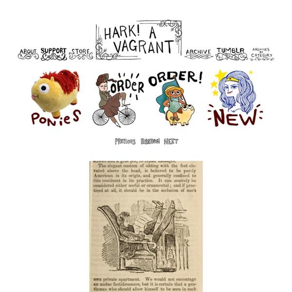 Hark, a vagrant: 366