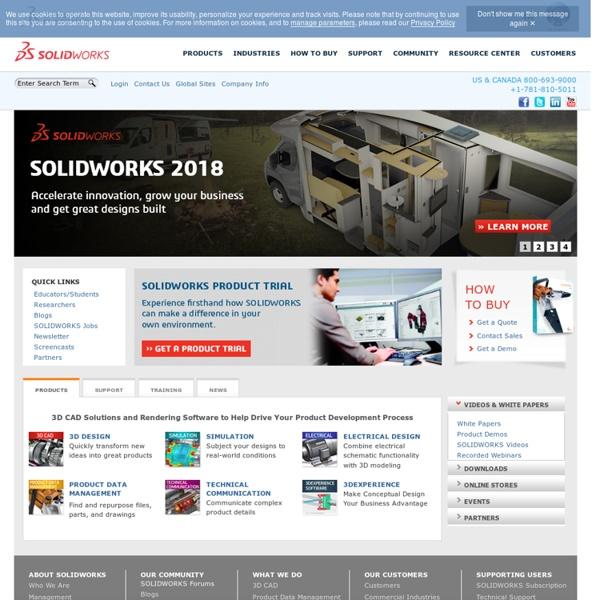 3D CAD Design Software SolidWorks