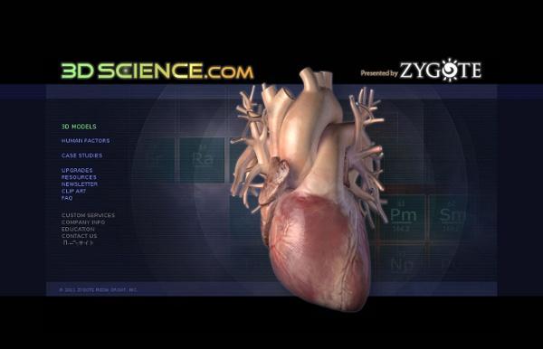 3D Human Anatomy - 3Dscience.com