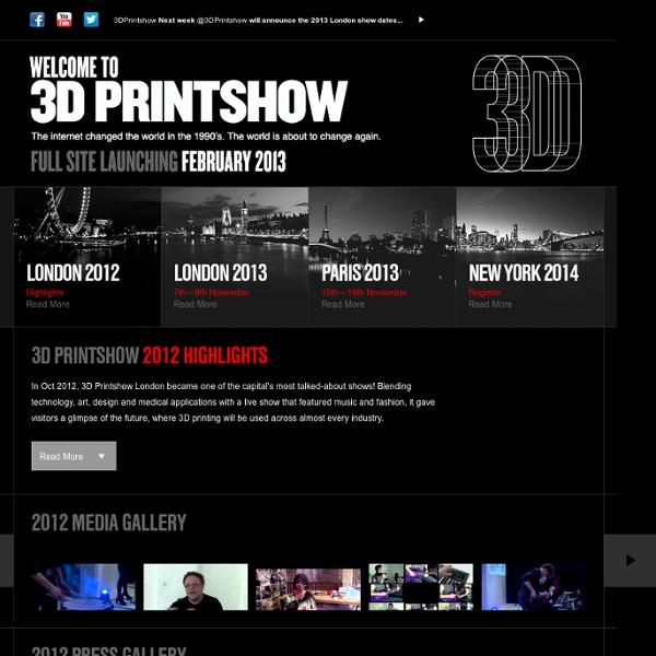 3D Printshow 2012