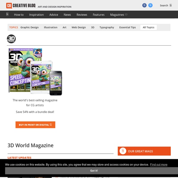 3D World - The Magazine for 3D Artists