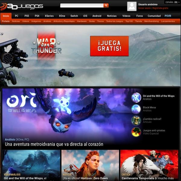 3DJuegos - Todo en videojuegos: PC Xbox 360 PS3 3DS DS Wii PSP