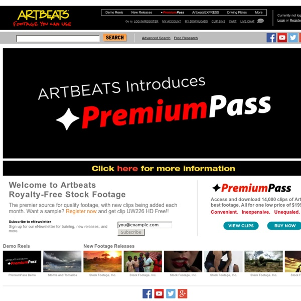 Artbeats - Royalty Free HD Stock Footage