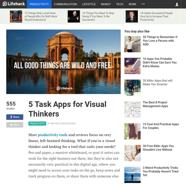 Task Apps For Visual Thinkers Pearltrees - 10 apps that you shouldnt live without