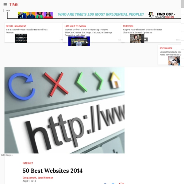 50 Best Websites 2014