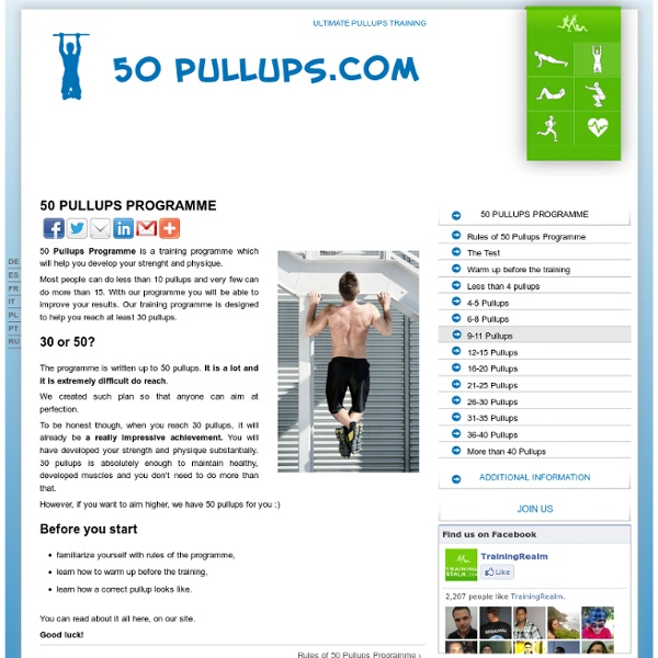 Ultimate pullups training