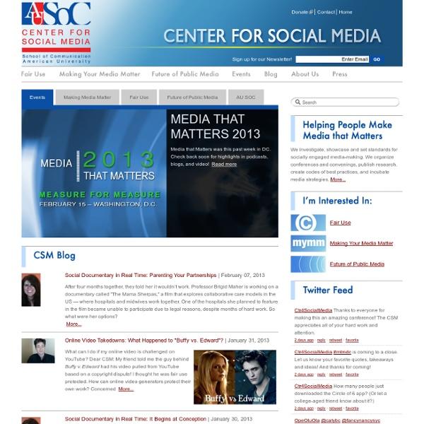 Center for Media & Social Impact